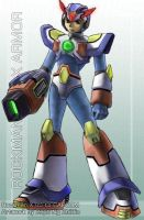 Rockman X - Max Armour by zephyron