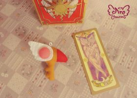 .: Sakura Card Captors key :. by Angeru-Charms