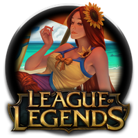 Pool Party Leona Icon by DudekPRO