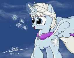 Frozen/MLP: Let It Go by EquestrianMarine