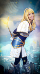 Light Mage? Lux - League of Legends by Xeylen