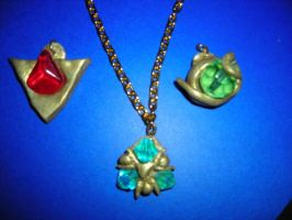 Spiritual Stone Necklace by FairyQueenQT