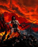 Conan the Unstoppable by CitizenOlek