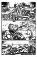 tmnt page samples 4 by FrancescoIaquinta