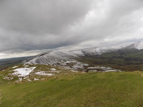 Top of Mam Tor. Two. by Jakvia