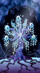 My little pony tarot card 20. The World - Tree by kairean