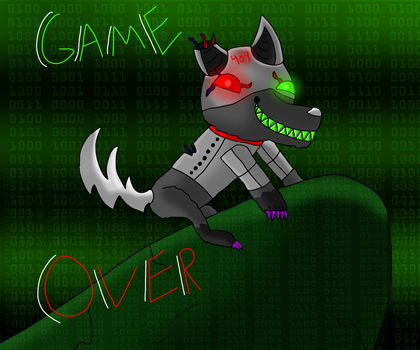 +GAME OVER+ by WolfyTheRuff
