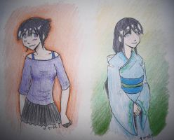 Hinata Drawings - CP by spectart28
