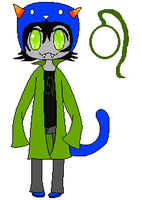 Chibi Nepeta by Moonsoulstealer4