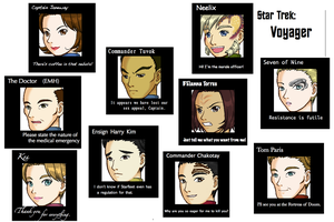 Star Trek: Voyager by chickenpede