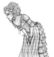 Mrs. Lovett-Pencil by FreyRoseFire
