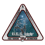 USS Wolf Patch by sparrow794