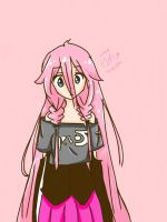 IA VOCALOID DRAWING by DerpyRinHooves