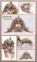 Lopmon:::::Digimon by Witchiko