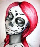 Sugar Skull Hunnie by sheeeey