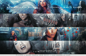 Victoria's Secret banners by imLilus