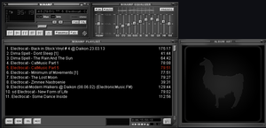 DEFAult winamp Skin Grey By EmiLEDESMArg  by EmiLEDESMArg