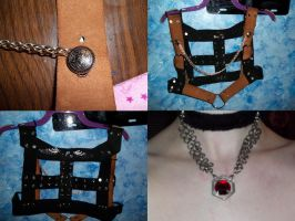 Finished steampunk vest by Ceraine