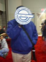 Megacon '08- The Laughing Man by TechnicolorThinking