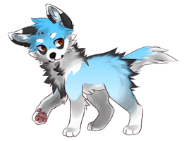 Puppy Adoptable :CLOSED: by Okami-Heart