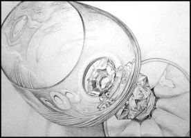 Wine Glass by lauraliee