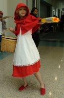 Baby Bonnie Hood from Darkstalkers at AX 2013 by trivto