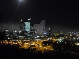 Perth City by Ergonis