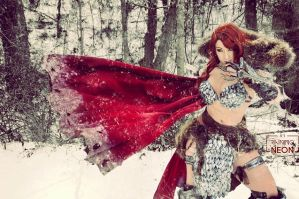 Red Sonja cosplay by Its-Raining-Neon