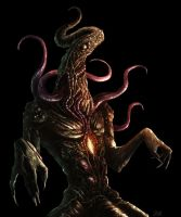 Nyarlathotep by adrianriom