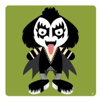 gene simmons by striffle