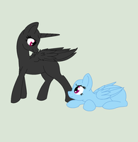 ~Pony Couple Base~ by GothicSoulIzzy