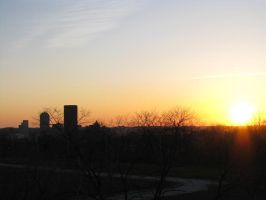Sunset Over Pittsburgh by Tustin2121