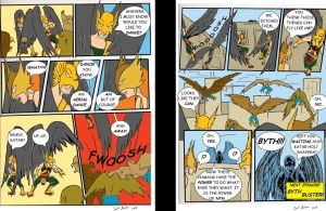 The Savage Manhawks Part 4 Hawkman Wants to Dance! by WibbitGuy