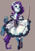 Magical Girl - Rarity by My-Magic-Dream