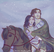 Underneath the Stars by naomi-makes-art73