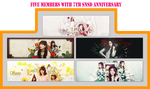 Happy 7th SNSD ANNIVERSARY (only 5 members) by PyPy192