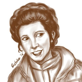 Princess Leia by vampirevenge