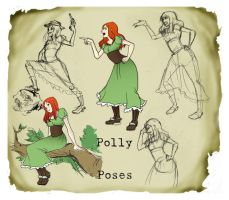 Final: Polly Poses by pure-forest