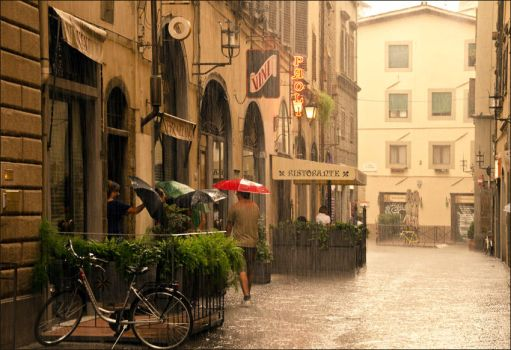 Rainy Florence by LuPri