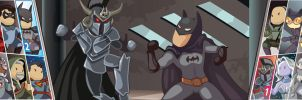Ares vs Batman by Nekaris