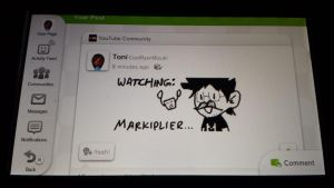 Markiplier  (Miiverse Drawing) by ToniMizukiPrime