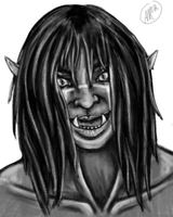 Portrait Practice 1 - T'ankwa by XantheStar