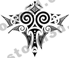 Maori tattoo design back by MaoriTattoo
