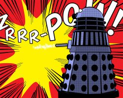 Dalek Roy (Lichtenstein) by richardnixon1968