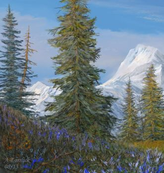 alaska boreal forest attempt1a by andrekosslick