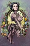 Lady Mechanika Spring Flowers 2012 by joebenitez