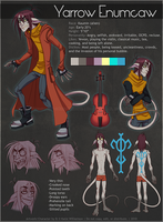 Yarrow Character Sheet by Katie-W