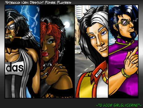 SND Power Players Colors by GirlGlycerine