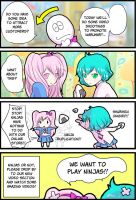 Mitsume Temo short comic 037 by Takisse