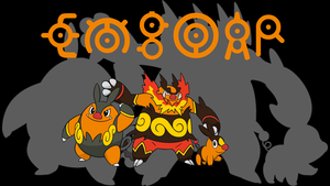 Emboar Background by JCast639